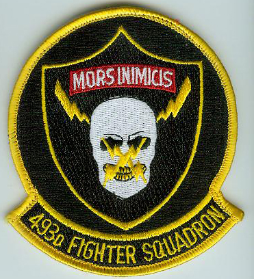 493rd Fighter Squadron Mors Inimicis F15C Eagle